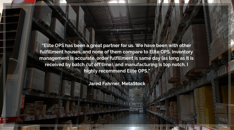 Shipping and Reverse Logistics by Elite OPS