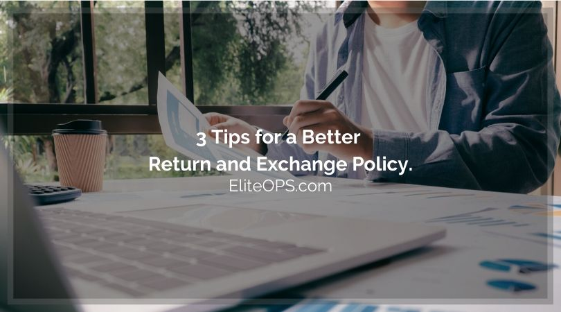 With eCommerce sales increasing year on year, consumers who are buying more products are also returning and exchanging more. You need a return and exchange policy that is efficient, cost effective and also fair to the consumer and you.