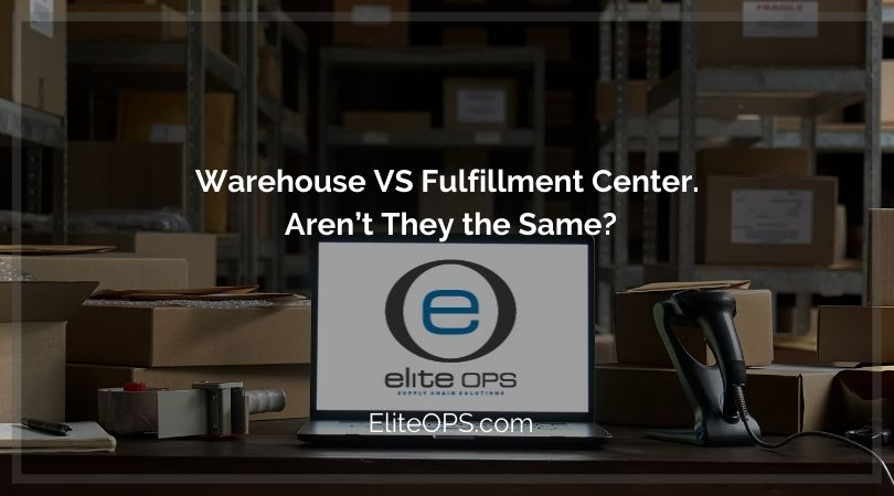 Warehouse VS Fulfillment Center. Aren't They the Same?